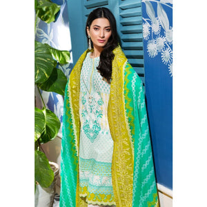 Embroidered Lawn Unstitched 3 Piece Suit CL-831 B