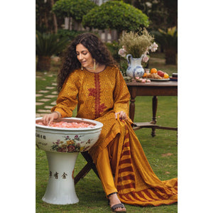 Embroidered Lawn Unstitched 3 Piece Suit CL-833 A