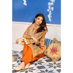 Embroidered Lawn Unstitched 3 Piece Suit CL-834 A