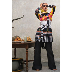 Printed Lawn Unstitched 3 Piece Suit CL-865