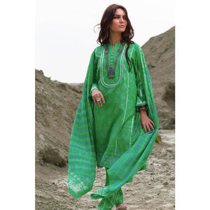 Printed Lawn Unstitched 3 Piece Suit CL-874