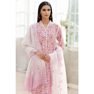 Embroidered Lawn Unstitched 3 Piece Suit CL-876