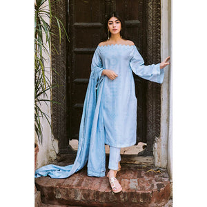Embroidered Lawn Unstitched 3 Piece Suit CL-881