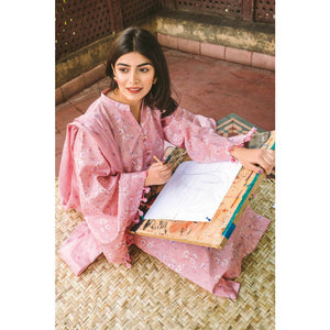 Ready to wear Embroidered Lawn 3 Piece Suit CL-908