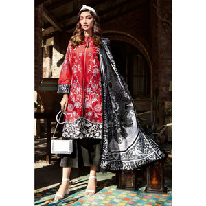 Embroidered Lawn Unstitched 3 Piece Suit CL-911