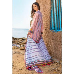 Embroidered Lawn Unstitched 3 Piece Suit CL-919