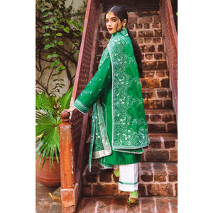 Embroidered Lawn Unstitched 3 Piece Suit CL-923
