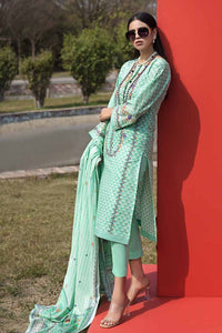 Gul Ahmed 3PC Unstitched Printed Lawn Suit CL-930 A