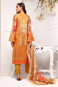 3 Piece Unstitched Digital Printed Lawn Suit CL-942 B