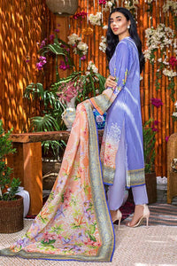 Gul Ahmed 3PC Unstitched Printed Lawn Suit CLP-40