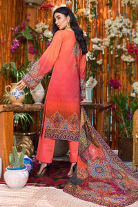 Gul Ahmed 3PC Unstitched Printed Lawn Suit CLP-46