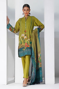 Gul Ahmed 3 PC Digital Printed Lawn Suit CLP-68