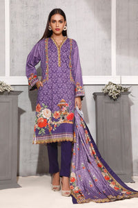 Gul Ahmed 3 PC Digital Printed Lawn Suit CLP-70