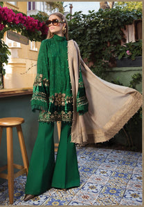 Maria.B Unstitched Linen Winter Collection 2020 (D-04)