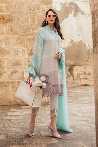 MARIA B Lawn 3 PC Unstitched Suit D-2112-B