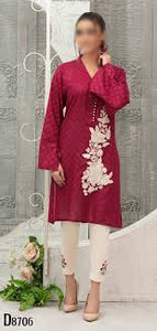 Tawakkal Amna Sohail Summer Kurti Ready To Wear D-8706