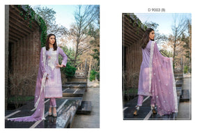 Ready To Wear Tawakkal Fabrics Dalliance of Dreams 3 Piece Suit D-9003-B
