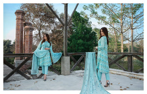 Ready To Wear Tawakkal Fabrics Dalliance of Dreams 3 Piece Suit D-9005-B