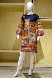 Ready to wear  Printed Lawn Stitched Kurties SL-791