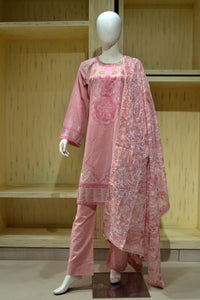 Ready to wear Embroidered Jacquard  Piece Suit PM-275