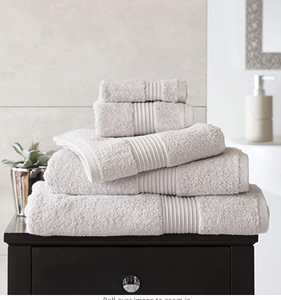 Deyongs Bliss 650gsm Pima Cotton Towels - Silver