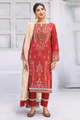 Iznik Festive Lawn Collection 2020 3PC Eomroidered Suit EFL-03 Zard Heera
