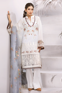Iznik Festive Lawn Collection 2020 3PC Eomroidered Suit EFL-11 Arqam