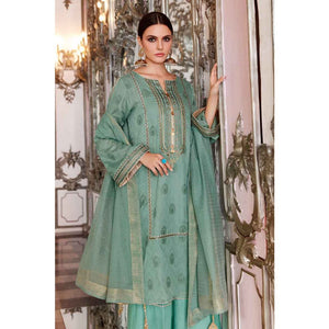Ready to wear  Gul Ahmed Embroidered Jacquard 3 Piece Suit FE-265