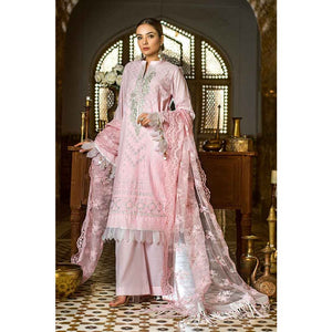 Gul Ahmed Embroidered Lawn Unstitched 3 Piece Suit FE-297