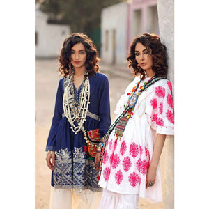 Gypsy Embroidered Lawn Unstitched Kurties GS-08