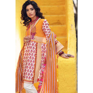 Gypsy Embroidered Lawn Unstitched 2 Piece Suit GT-13 A