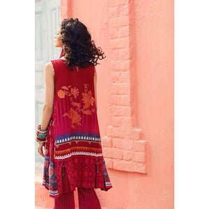 Gypsy Printed Cotton Unstitched 2 Piece Suit GT-15 B
