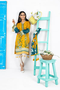 Komal by Lakhany Printed Lawn Unstitched 3 Piece Suit KP-2031