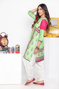 Ready to wear Printed Lawn Stitched Kurti By LSM-1581-ST