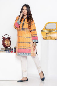 Ready to wear Printed Lawn Stitched Kurti By LSM-1579-ST