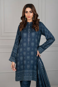 Lakhani Printed Unstitched 3 Piece Suit CVC-1011-C