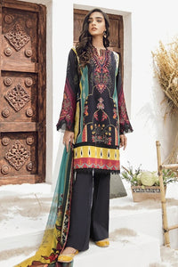 Guzel Lawn Collection By Iznik 2020 Unstitched 3 Piece Suit High Waters D-01