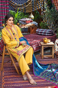Gul Ahmed Embroidered Stitched Khaddar Multani Khais K-103