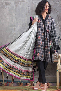 Check on Trend Winter Khaddar Stitched by Gul Ahmed – K-93
