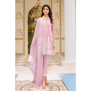 Ready to wear Embroidered Swiss Voile 3 Piece Suit LSV-12-ST