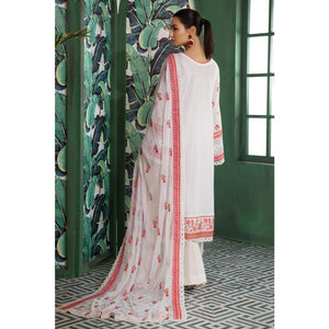 Embroidered Swiss Voile Unstitched 3 Piece Suit LSV-19