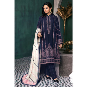Ready to Wear Embroidered Swiss Voile stitched 3 Piece Suit LSV-23