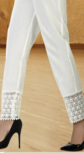LSM Embroidered Stitched Trousers S20-TR-009