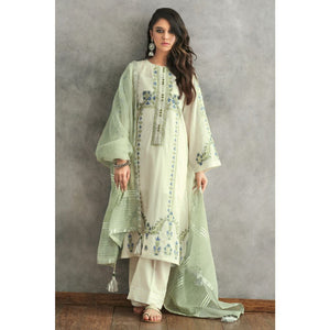 Ready to Wear Gul Ahmed 3 PC Stitched Jacquard Suit MJ-19