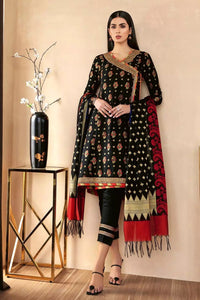 3PC Unstitched Jacquard Suit MJ-66