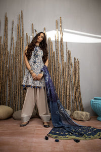 Komal Collection By LSM Printed Lawn Stitched 3 Piece Suit MPC-2080