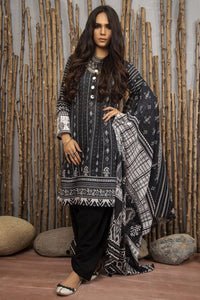 Komal Collection By LSM Printed Lawn Stitched 3 Piece Suit MPC-2082