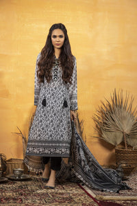 Komal Collection By LSM Printed Lawn Stitched 3 Piece Suit MPC-2086
