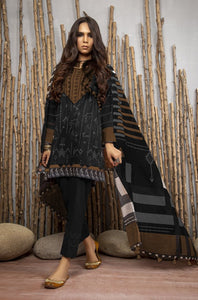Komal Collection By LSM Printed Lawn Stitched 3 Piece Suit MPC-2089