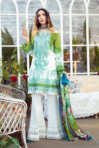 Maria.B Unstitched 3 Piece Spring Summer Suit MPT-1007-A